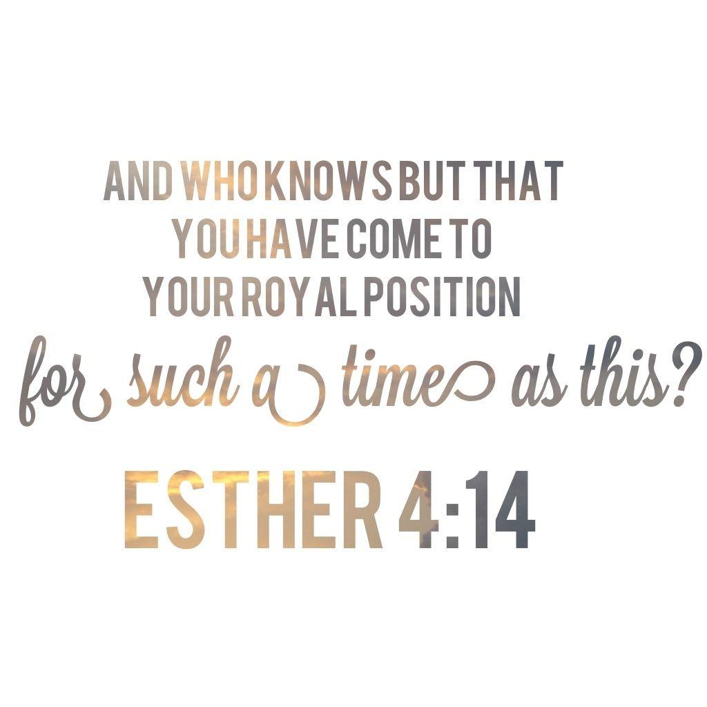 Image result for ESTHER 4: 13 position
