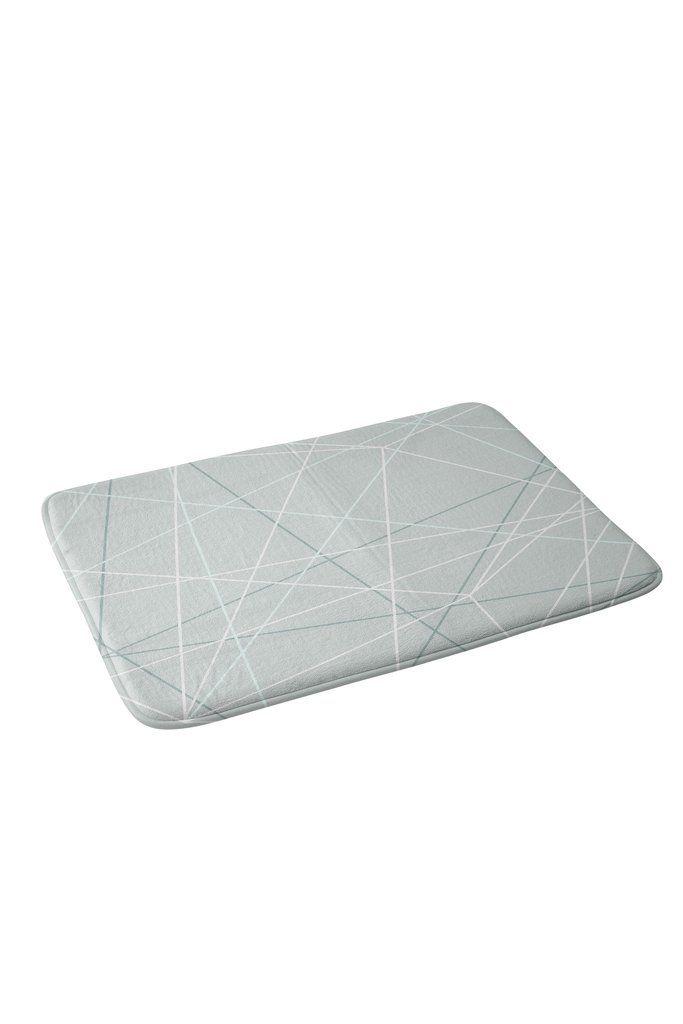 Mareike Boehmer Pastel Lines 2 Memory Foam Bath Mat | DENY Designs Home Accessories