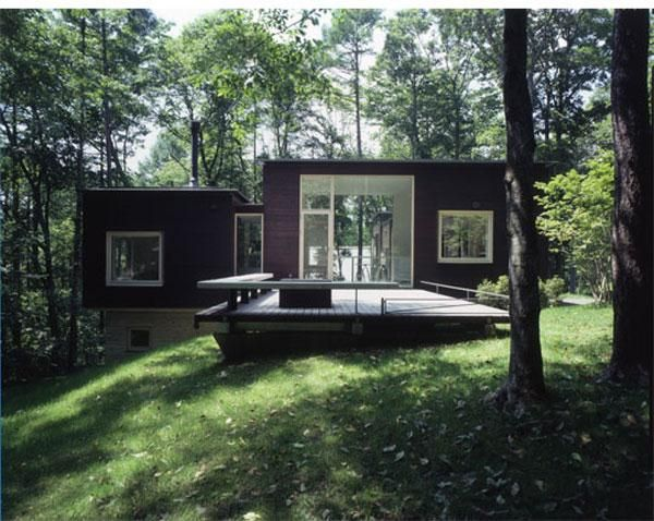 Modern Green Shadow House Design U2013 Forest Home Design