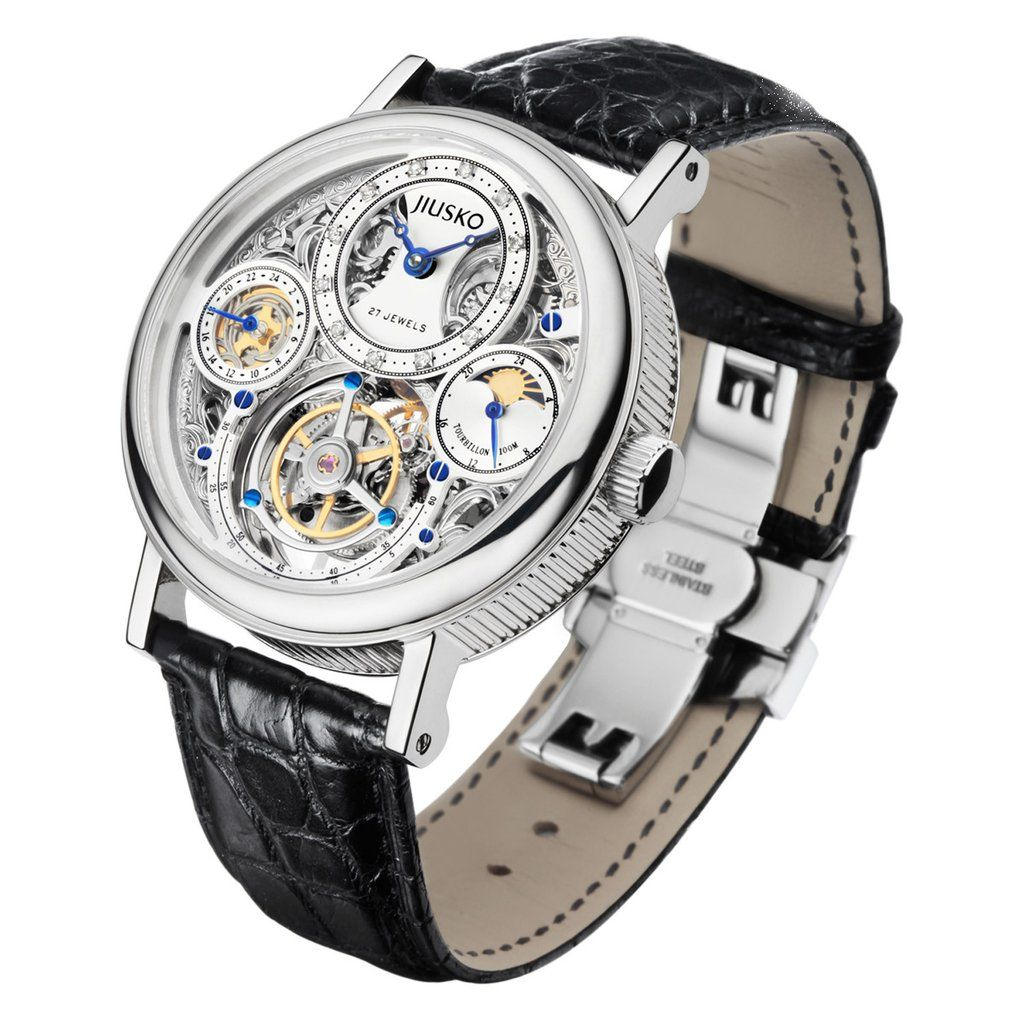 The JIUSKO Tourbillon. History and incredible watchmaking art for the wrist!