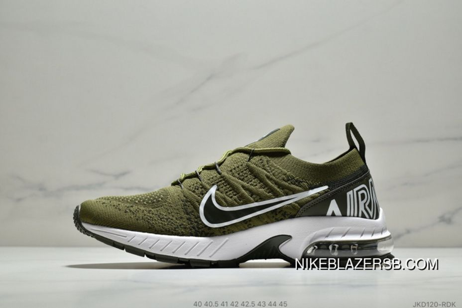 new style b3414 4556f Nike Air Max Flyknit JKD120-RDK Mens Running Shoes Casual Sneakers Army  Green Black New