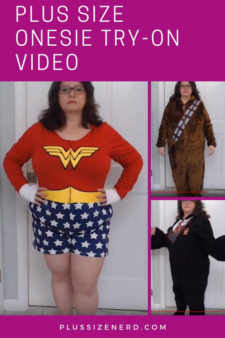 Plus Size Onesie Try On Video Plus Size Disney Clothes Plus Size Plus Size Disney