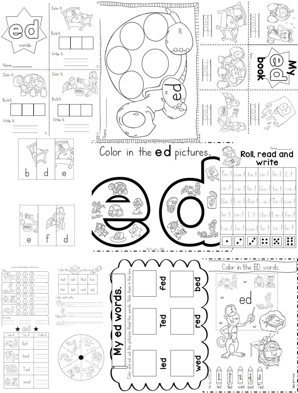 Ed Word Family Pack