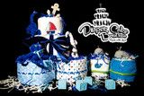 3 Layer Cakes By Color – Diaper Cake Boutique