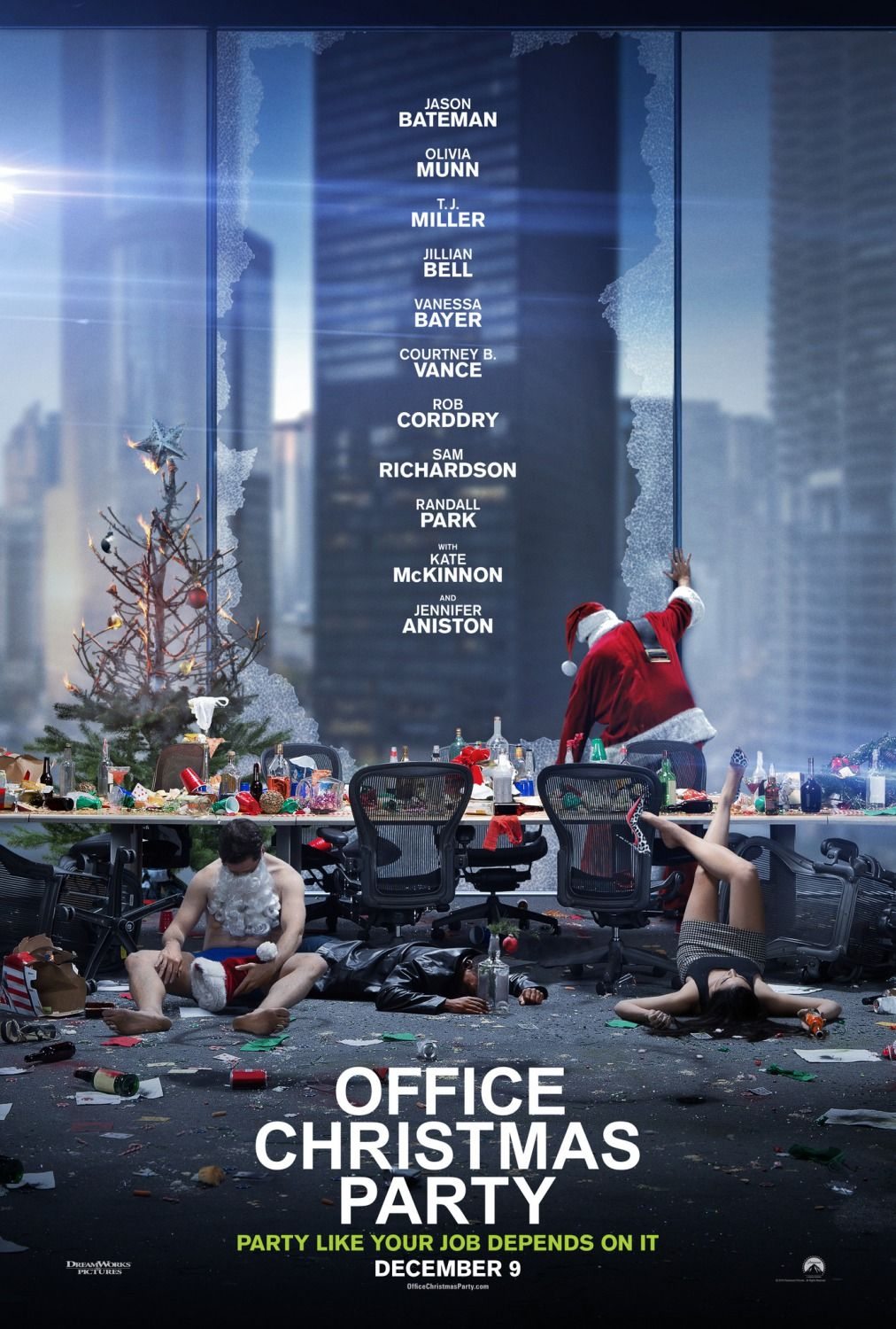 Yes/No Films movie review: Office Christmas Party | My Movie Reviews ...