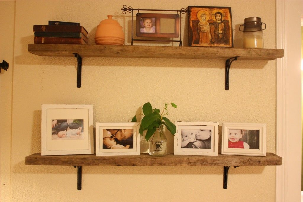Black Metal Shelf Brackets At Home Depot For 5 Each The Wood Was