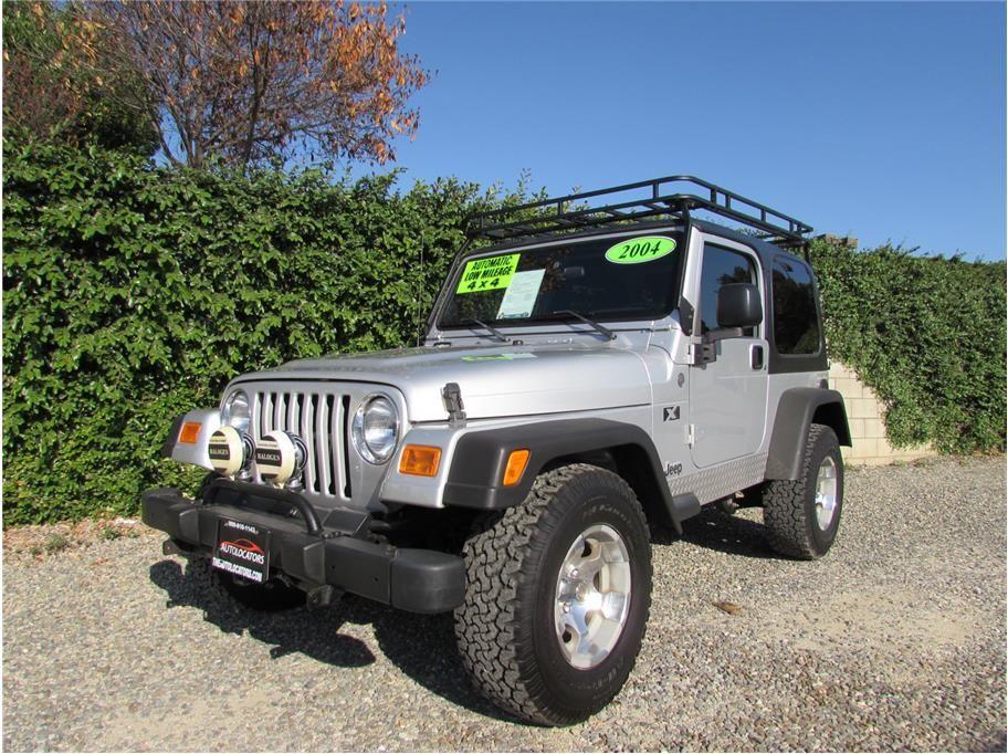 2004 Jeep Wrangler X Sport Utility 2d Jeep Wrangler X 2004 Jeep Wrangler Jeep Wrangler