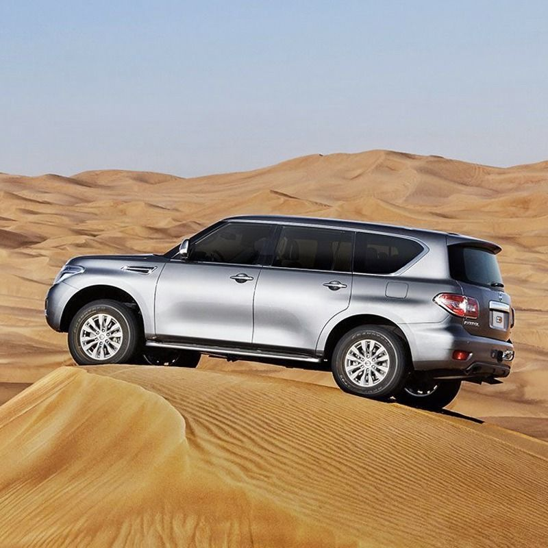 Drive the 2019 Nissan Patrol Platinum for AED 500 / day in