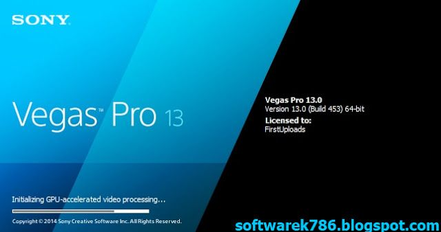 Sony Vegas Pro 13 0 (x64)Full Version Free Download