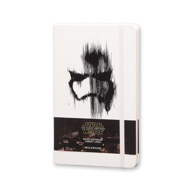 This minimalist Stormtrooper hardcover notebook you'll never want to write in.