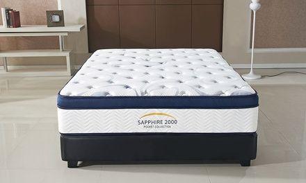 Pillow Top Sapphire 2000 Mattress From 199 99 86 Off Free