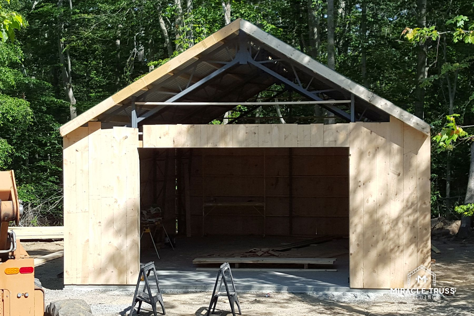 Watch Pre Fabricated Buildings Being Built Miracle Truss