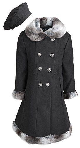 Rothschild Little Girls Wool Look double-breasted Faux Fur Trimmed Dress Coat - Black (size 6x) Rothschild http://www.amazon.com/dp/B013PC0PBI/ref=cm_sw_r_pi_dp_FbUNwb0K91JZ3