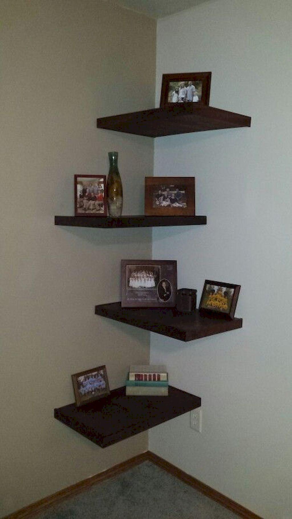 65 Diy Floating Corner Shelve For Living Room Decor Ideas Decoración De Esquina Muebles De Esquina Decoración De Repisas