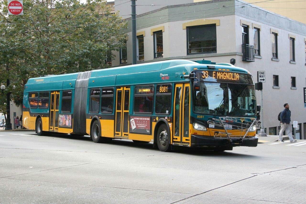 King County Metro Bus Bus Terminal Bus Stop