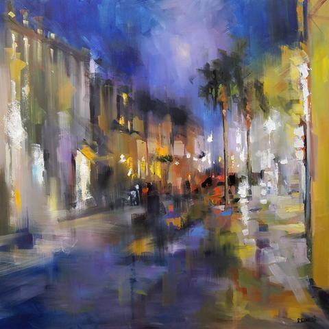 Rick Reinert Southern Nocturne In 2019 Oil Paintings