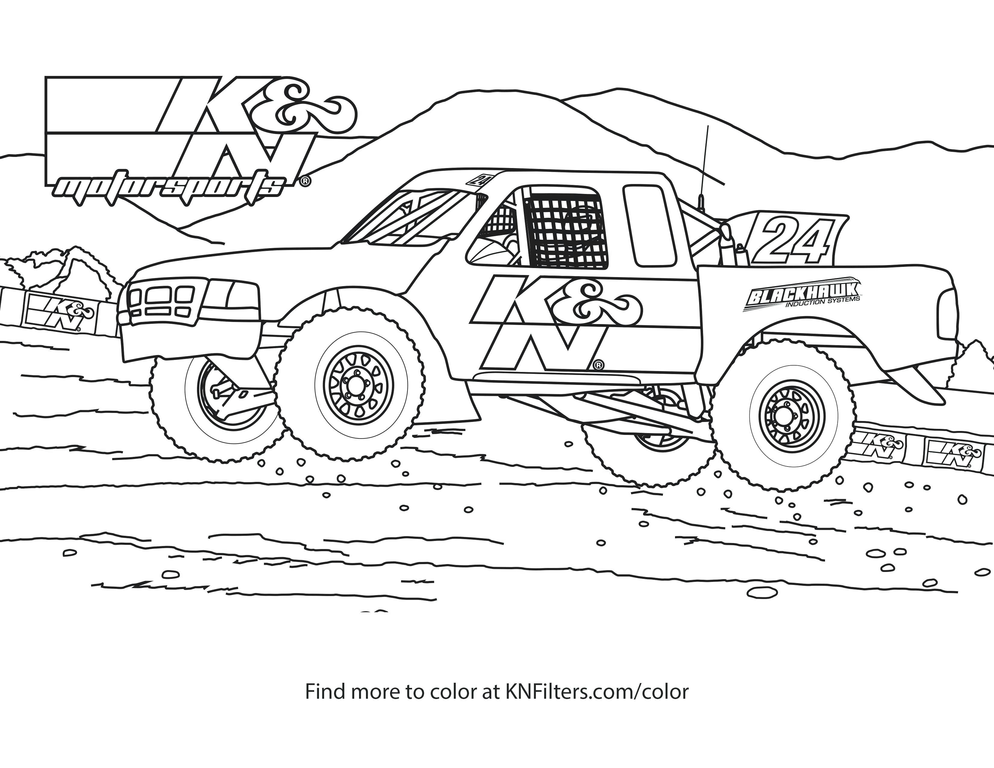 Off Road Vehicle Coloring Pages Printable Truck Coloring Pages Coloring Pages For Kids Printable Coloring Pages