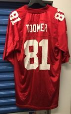 the latest 3893f 03374 Reebok Amani Toomer New York Giants Red Jersey XL | random ...