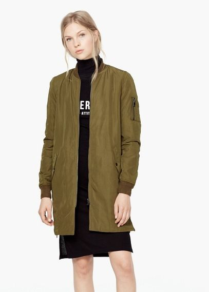 Zip textured jacket   MANGO   Lookbook   Pinterest   Veste ... 1129816cad74