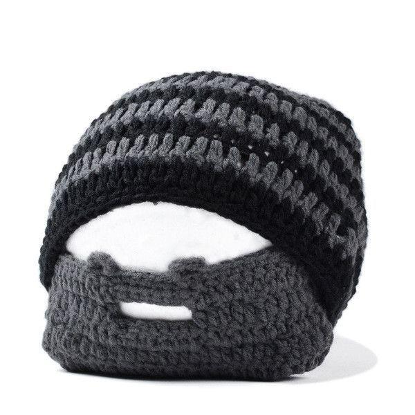 Knit beard hat cap beaine ski face mask balaclava winter hats for men,skullies bonnet homme,mutsen mannen,gorro chapeu cappello