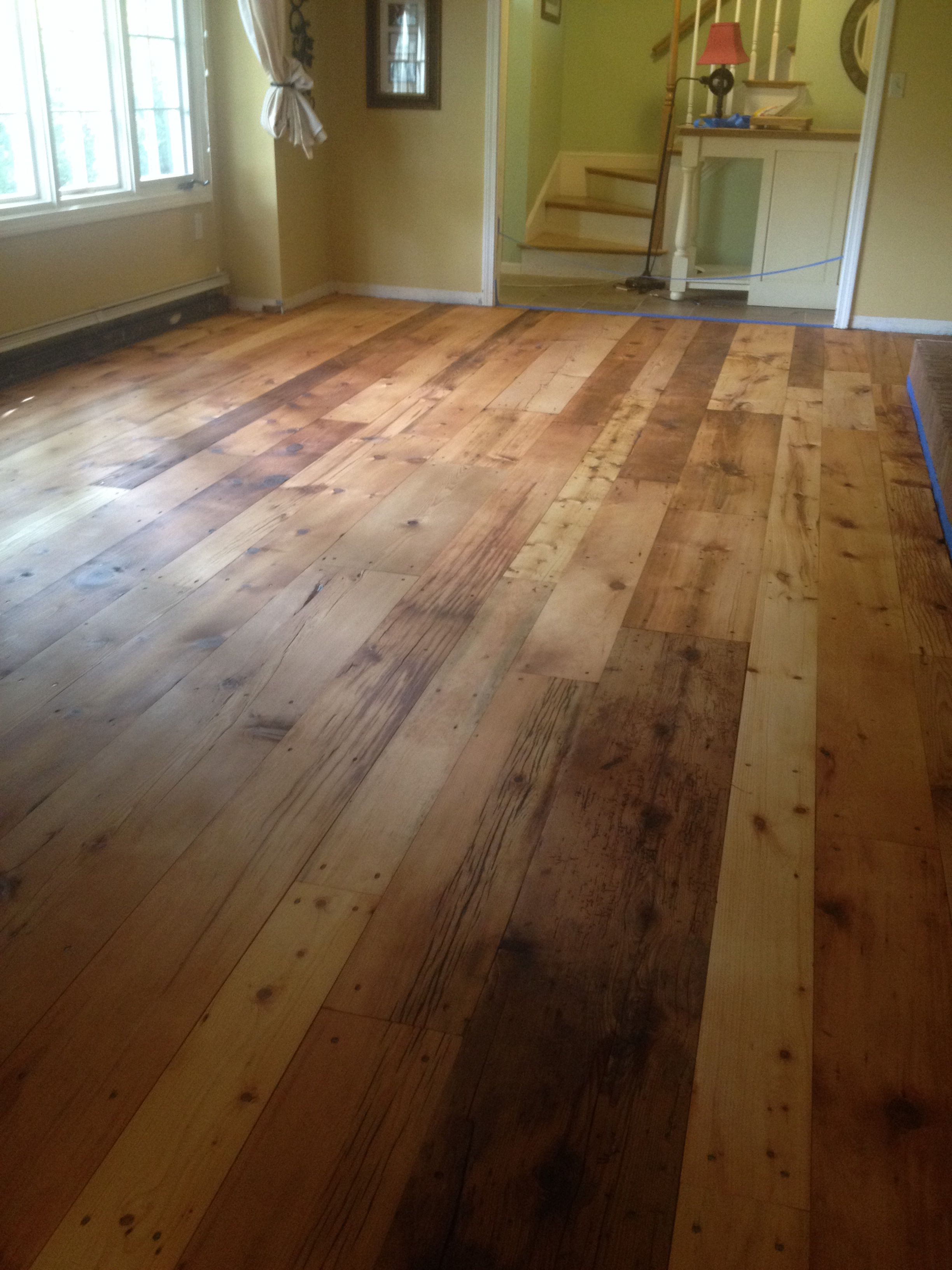 Rustic Barn Board Pine Finished With Ciranova Hard Wax Oil