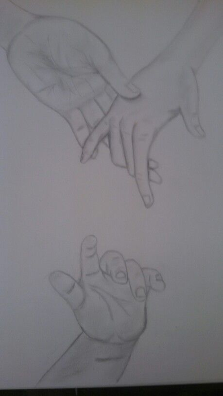 Practice drawing hands
