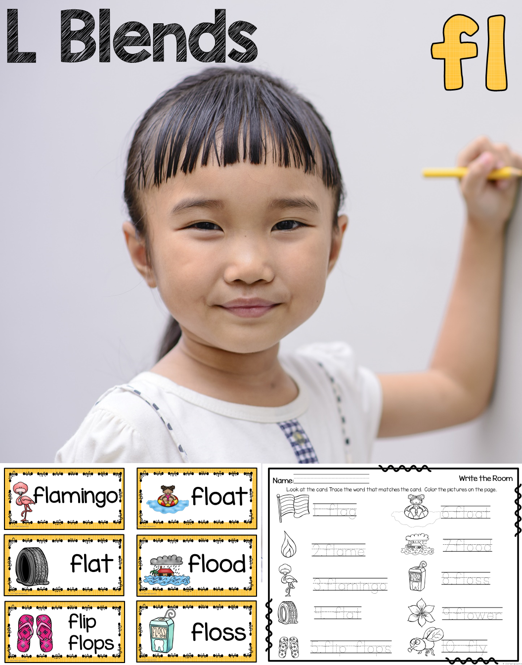Super Cute Activities To Practice L Blends This Set