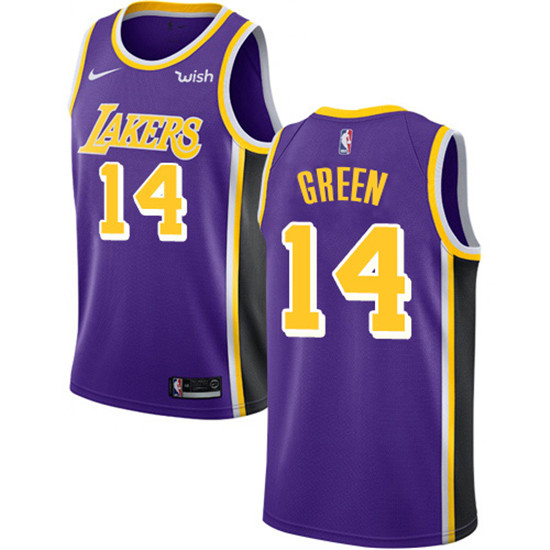 2020 Nike Lakers 14 Danny Green Purple Nba Swingman Statement Edition Jersey In 2020 Kobe Bryant Los Angeles Lakers Shaquille O Neal
