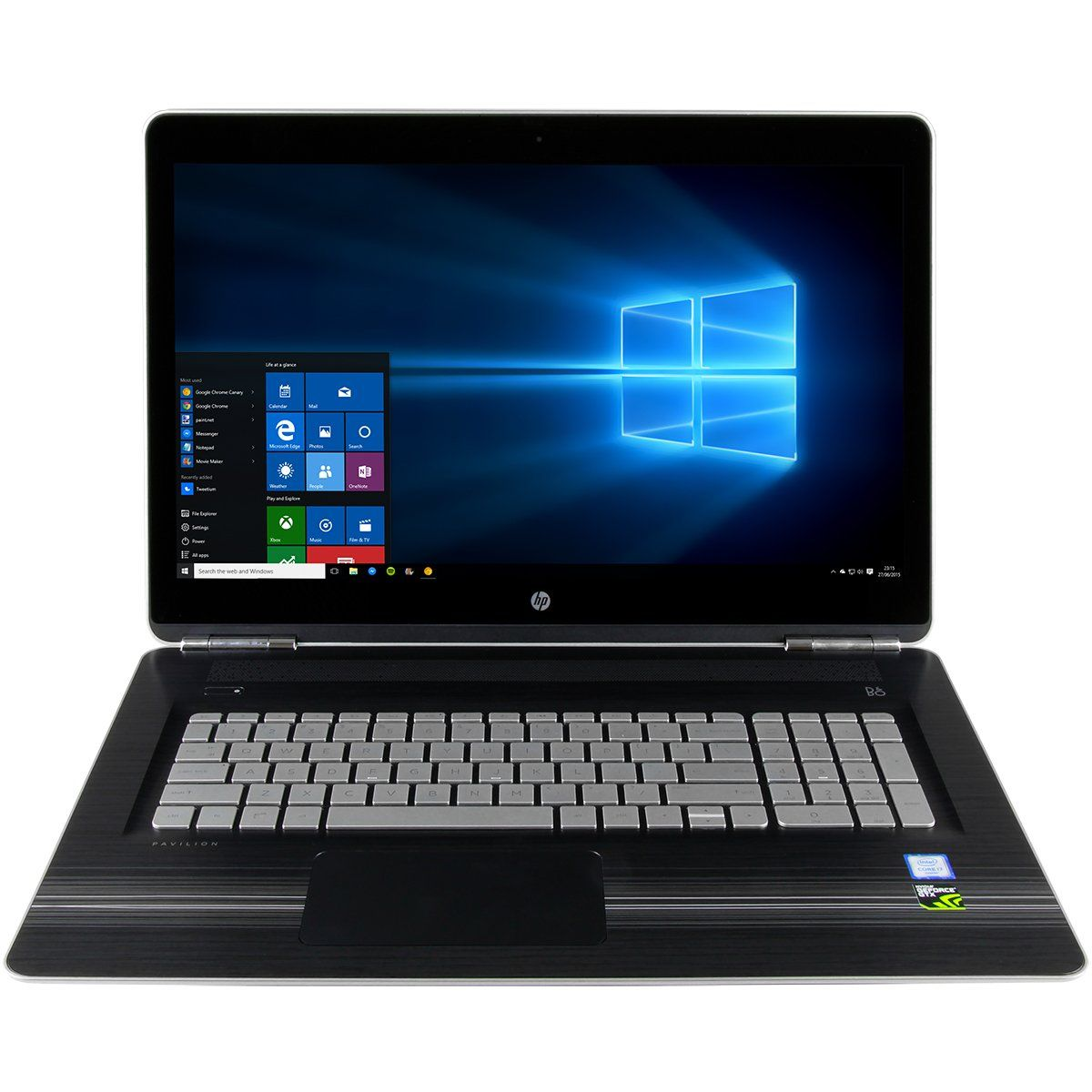 Cuk Hp Pavilion 17 Gamer 17 3 Notebook Intel Skylake I7 7700hq 32gb Ram 256gb Nvme Ssd 1tb Hdd Nvidia Gtx 1050 4g Laptop Laptop Windows Laptop Computers