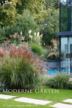 Pin von Eibe 03 auf Garten Pinterest Moderne gärten - garten pflegeleicht modern