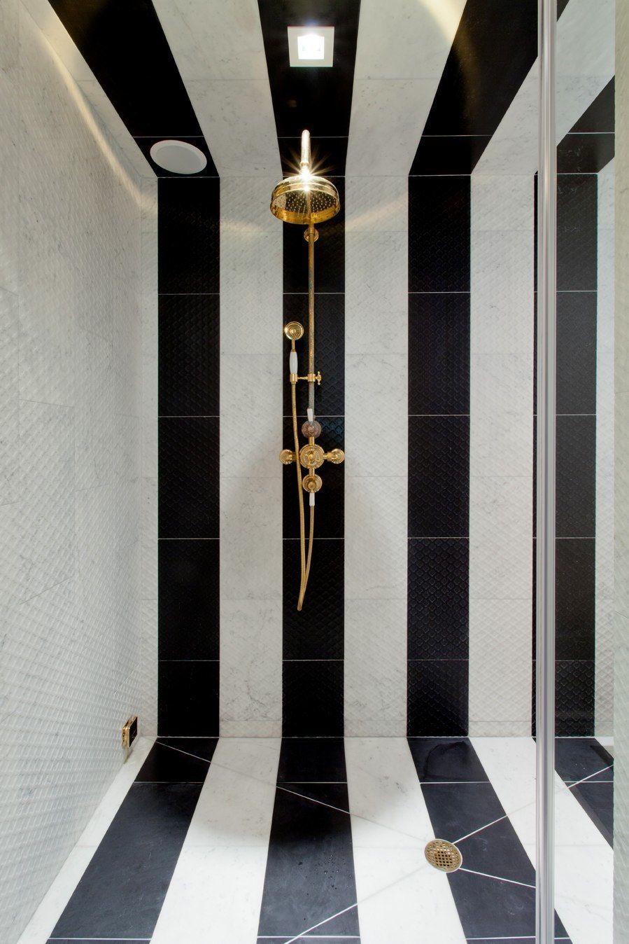 Home Bathroom Tile Designs Black And White Tiles Amazing Bathrooms