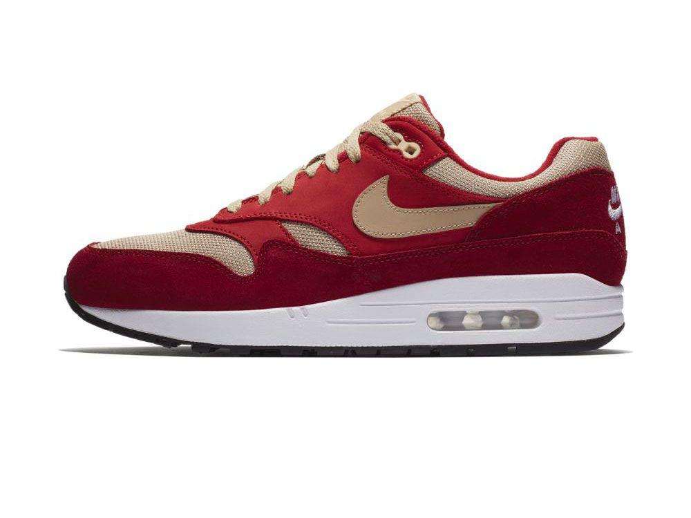 sports shoes 9f86a ad7f8 Już za chwilę na sklepowych półkach zawita kolejny projekt powstały na  linii atmos x Nike. Przed Wami oficjalne zdjęcia butów Air Max 1 w  kolorystyce Red ...