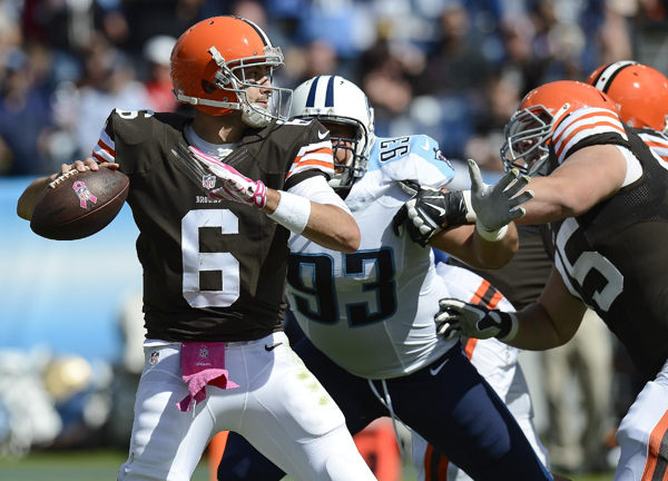 Greg Cosell S Look Ahead Brian Hoyer Establishing Himself For Browns Fantasy Football Nfl Cleveland Browns