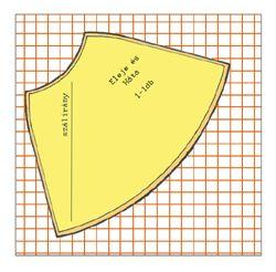 653904a2bc Szoknya szabásminta készítés 3. Harangszoknya szabása csíkos és kockás  anyagból szabásminta szoknya szabásminta szoknya szabásminta