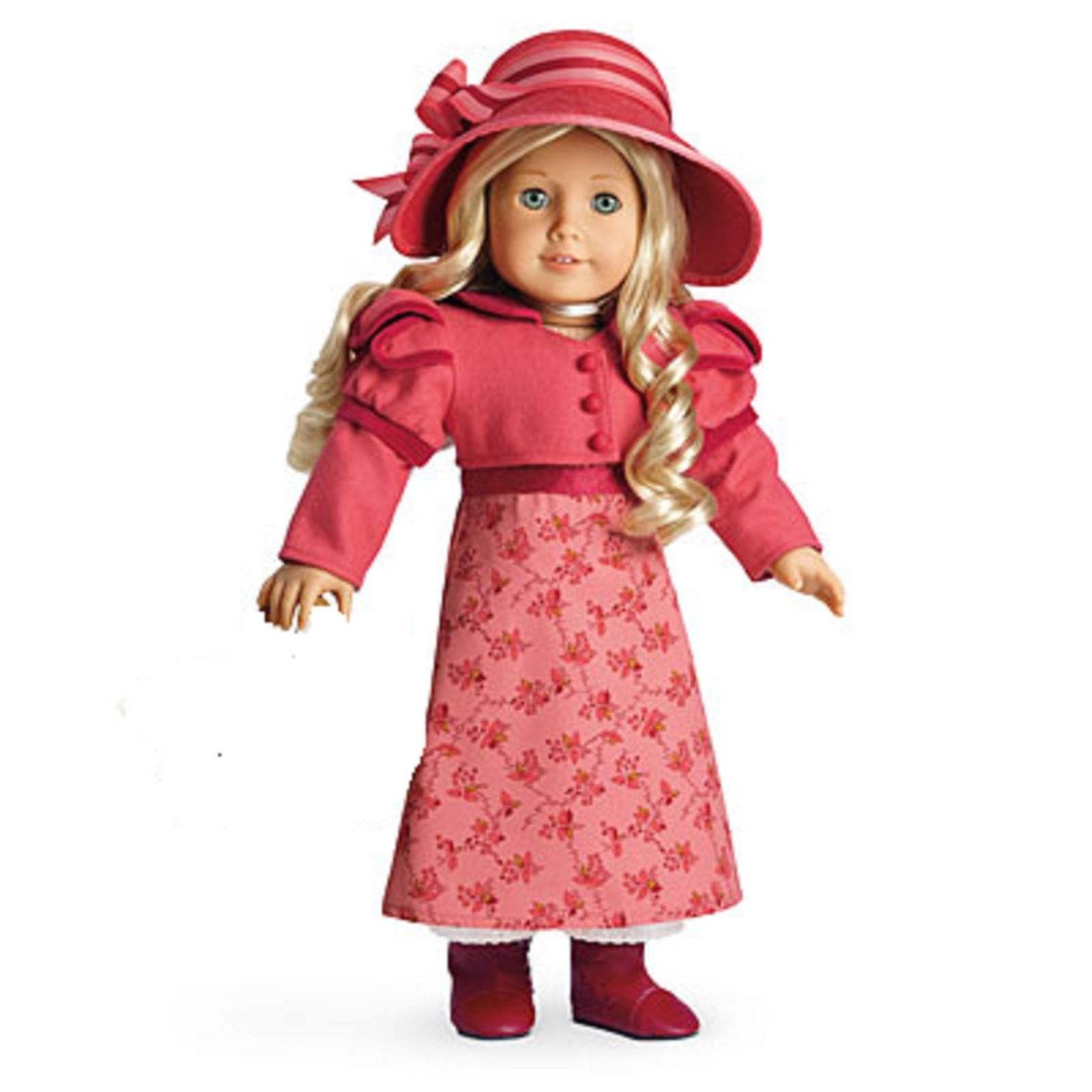 American Girl MOLLY DRESS PARTY NIB  doll and shoes not included