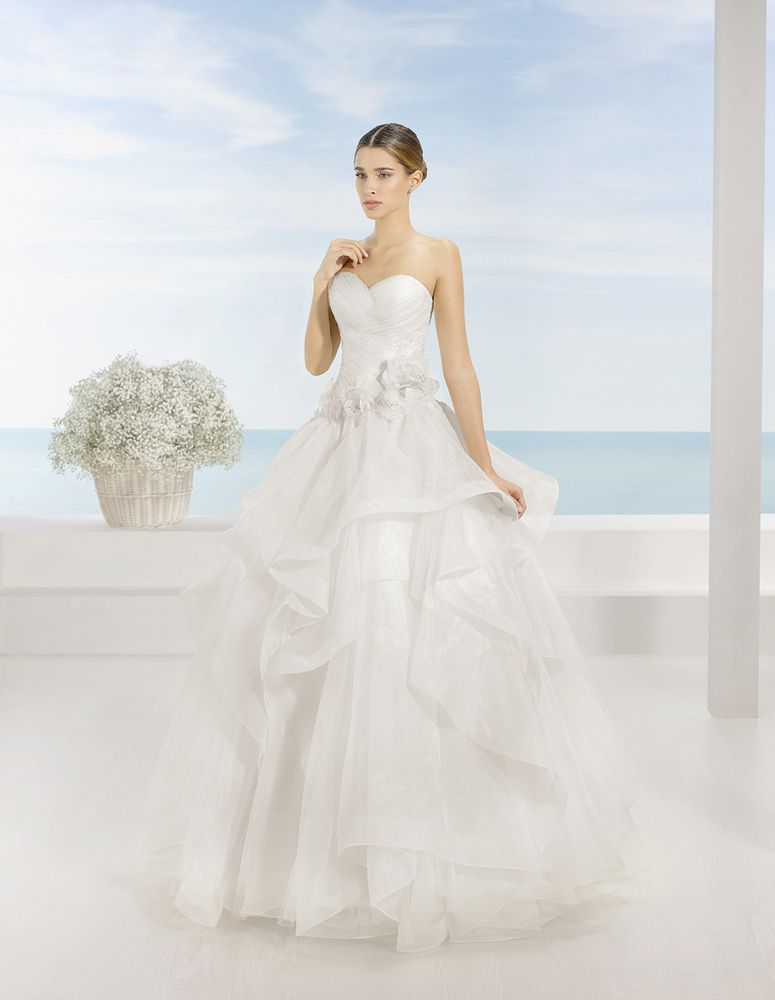 wedding dress trebol brand luna novias available nice to shop nicea