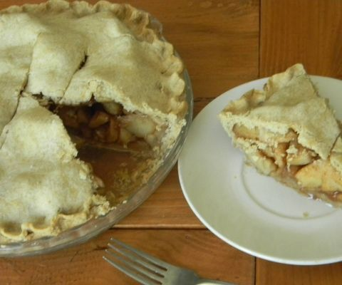 """Mom's Apple Pie"" from the ""Home Joys"" blog"