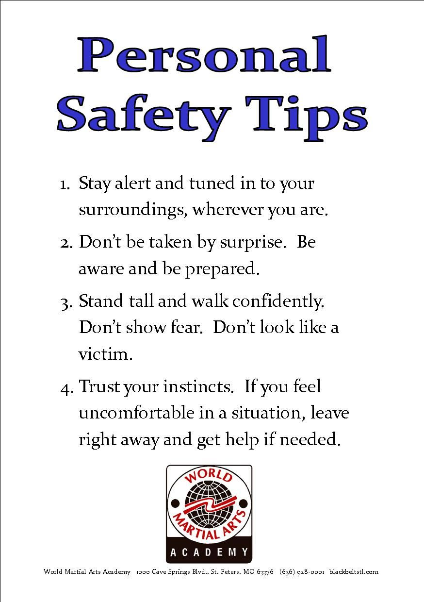 Pin By Leanna Parra On Personal Safety Self Defense Tips Self Defense Safety Tips