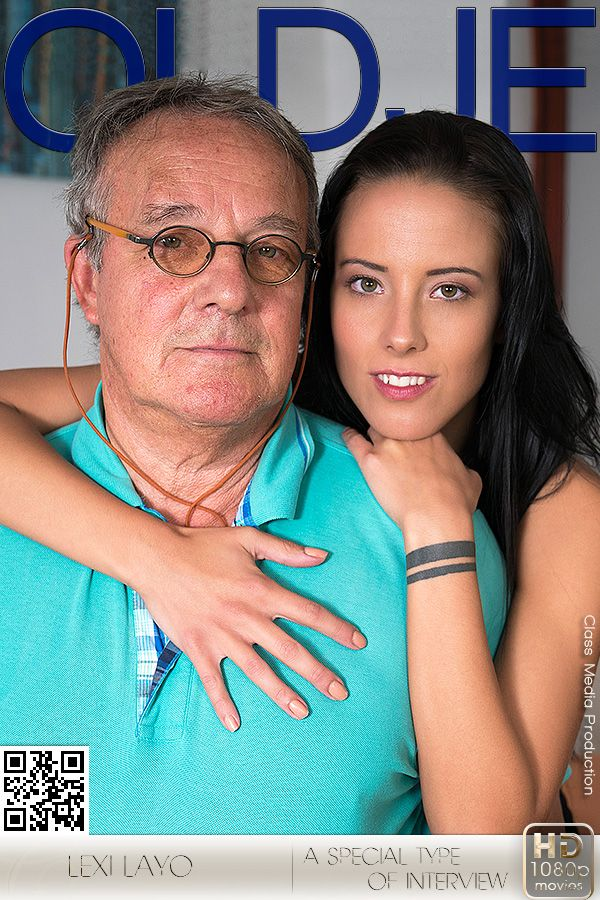 New Update From Oldje With Sexy Brunette Girl Lexi Layo A -9612