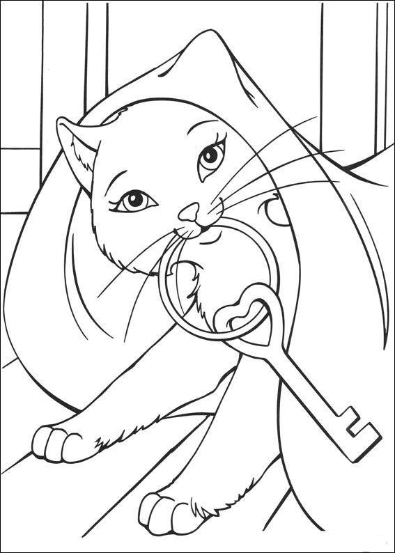 Quatang Gallery- Barbie En De Bedelaar Kleurplaat Kleurplaten Prinses Kleurplaatjes Kleurboek