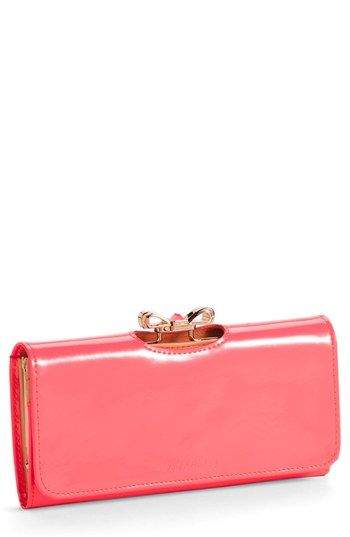 37626256a57a Ted Baker London  Crystal Bow Bobble  Matinee Wallet available at  Nordstrom