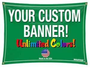 Details About 3 X 10 Full Color Custom Banner 13oz Vinyl 3x10 Custom Banners High Quality Vinyl