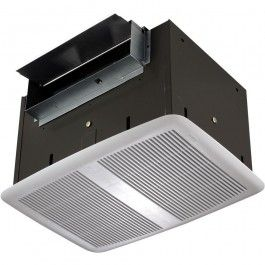 Broan Qt200 Ceiling Mount Ventilation Fan Vertical Horizontal