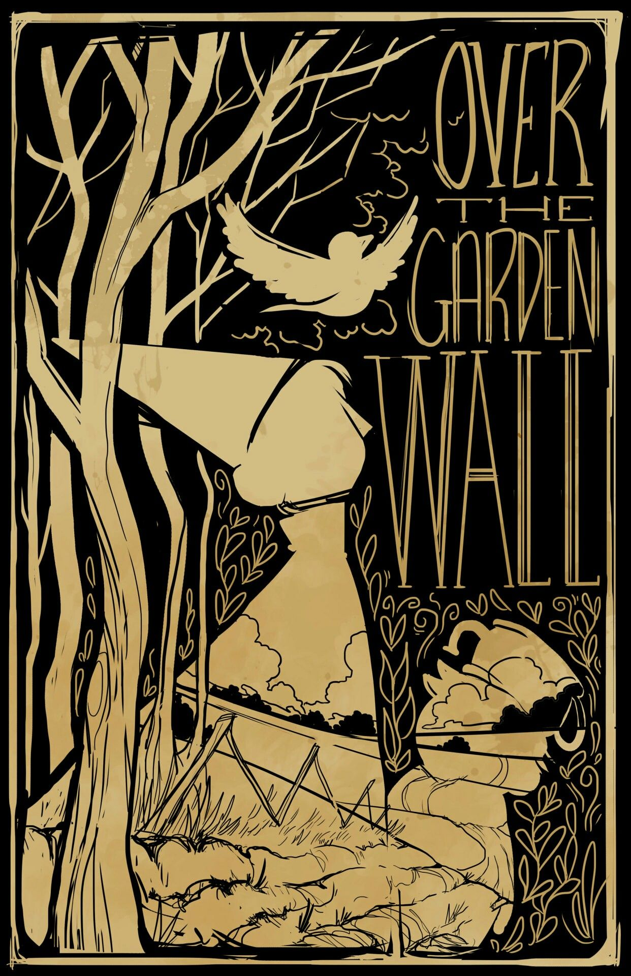 Over the Garden Wall | Over the Garden Wall | Pinterest | Walls ...