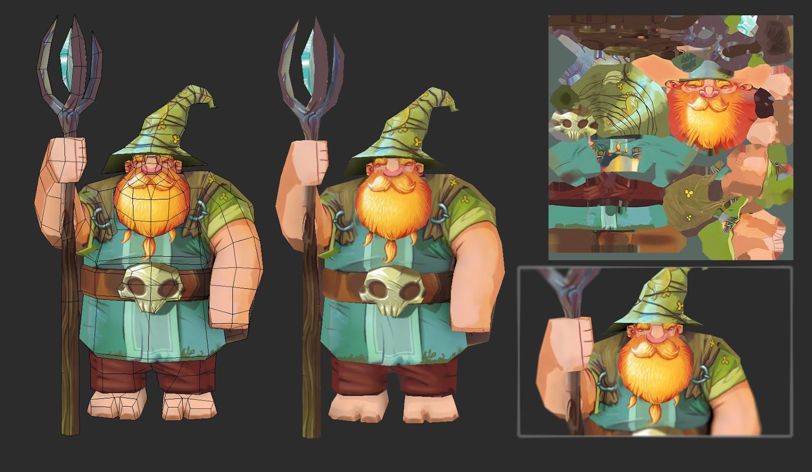 Cool hand painted style - Polycount Forum - View Single Post - What Are You Working On? 2013 Edition