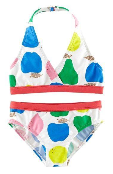 Mini Boden Bikini Top & Bikini Bottoms (Toddler Girls, Little Girls & Big Girls) available at #Nordstrom