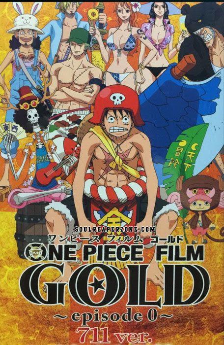 One Piece Film Gold Episode 0 711 Ver Dvd 480p 35mb Mkv One Piece Movies One Piece One Piece Movie 7