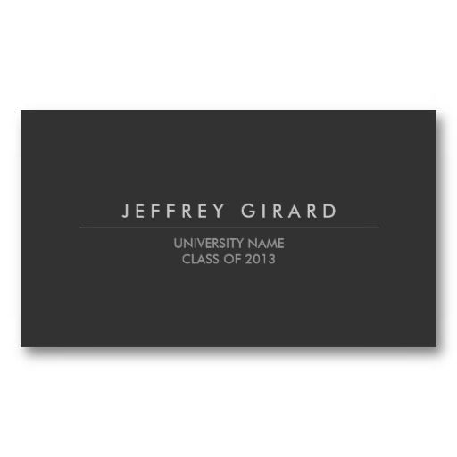 Law Student Modern Business Card Zazzle Com With Images