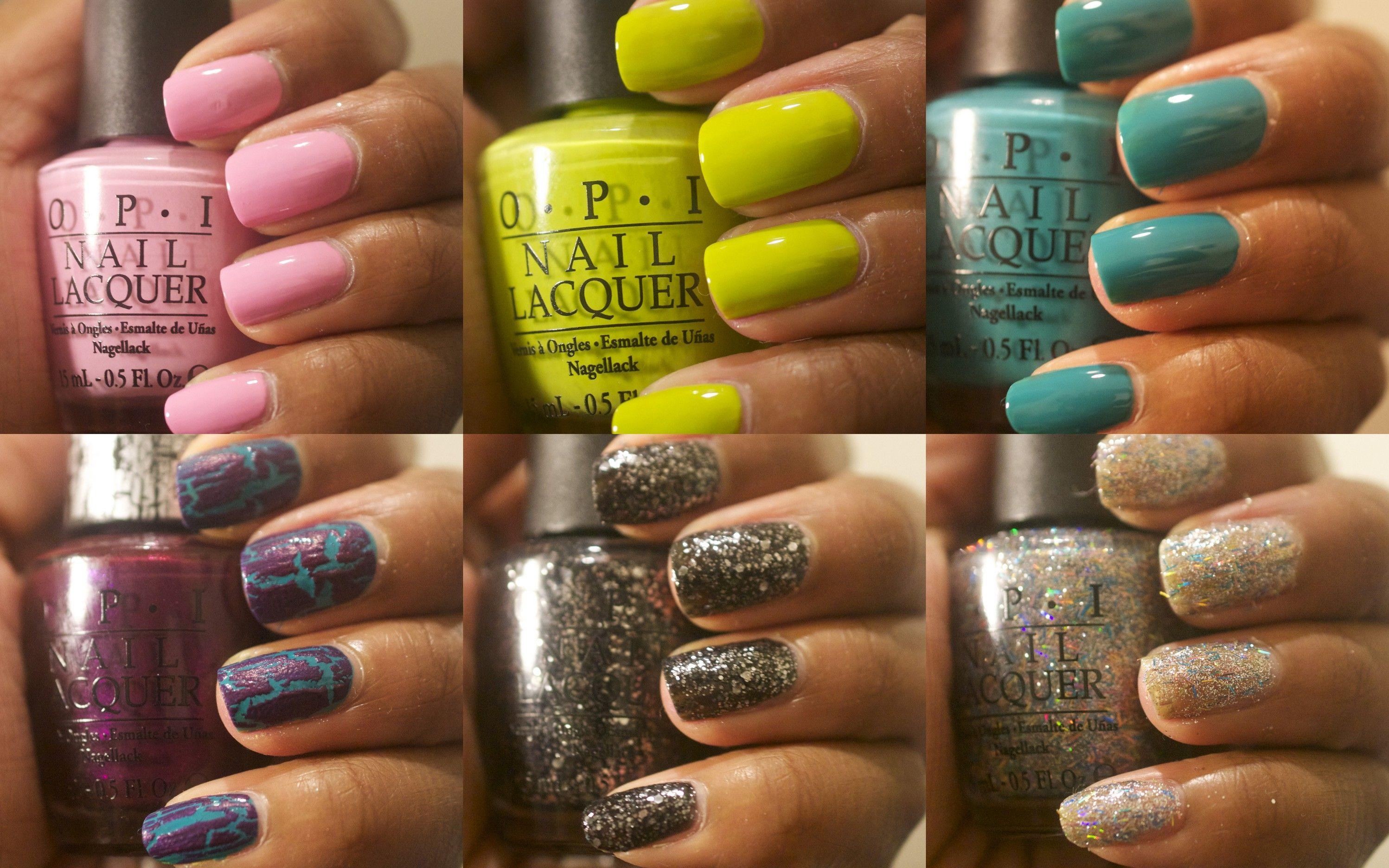 OPI Nicki Minaj nail polish collection | Products I Love | Pinterest ...