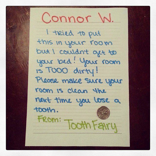 Hilarious and Genius Apology Notes From the Tooth Fairy Tooth fairy